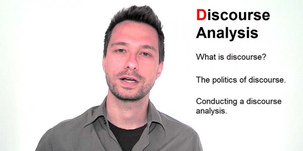 Video Introduction to Discourse Analysis