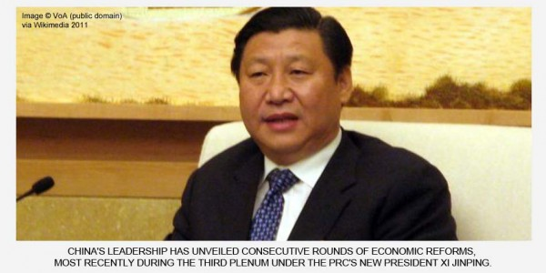 China's New Economic Reforms – Is the PRC's Leadership on the Right Track?