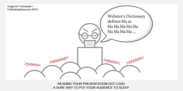 Five Ways to Do a Good Presentation