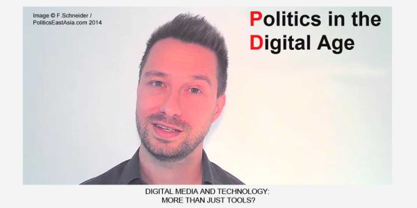 The Politics of Digital Tools