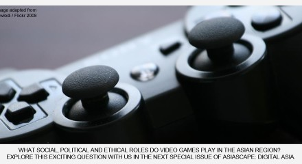 Call for Papers and Article Contest on Video Games in Asia